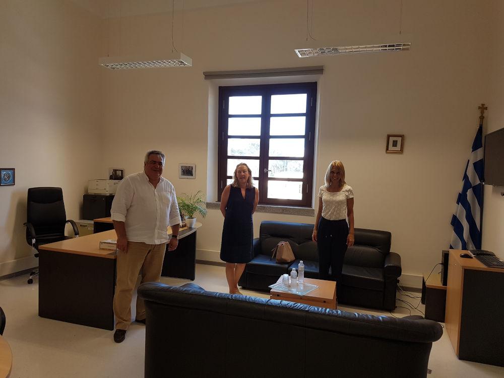 Συνάντηση Εργασίας Με Το Ισπανικό Ινστιτούτο Cervantes